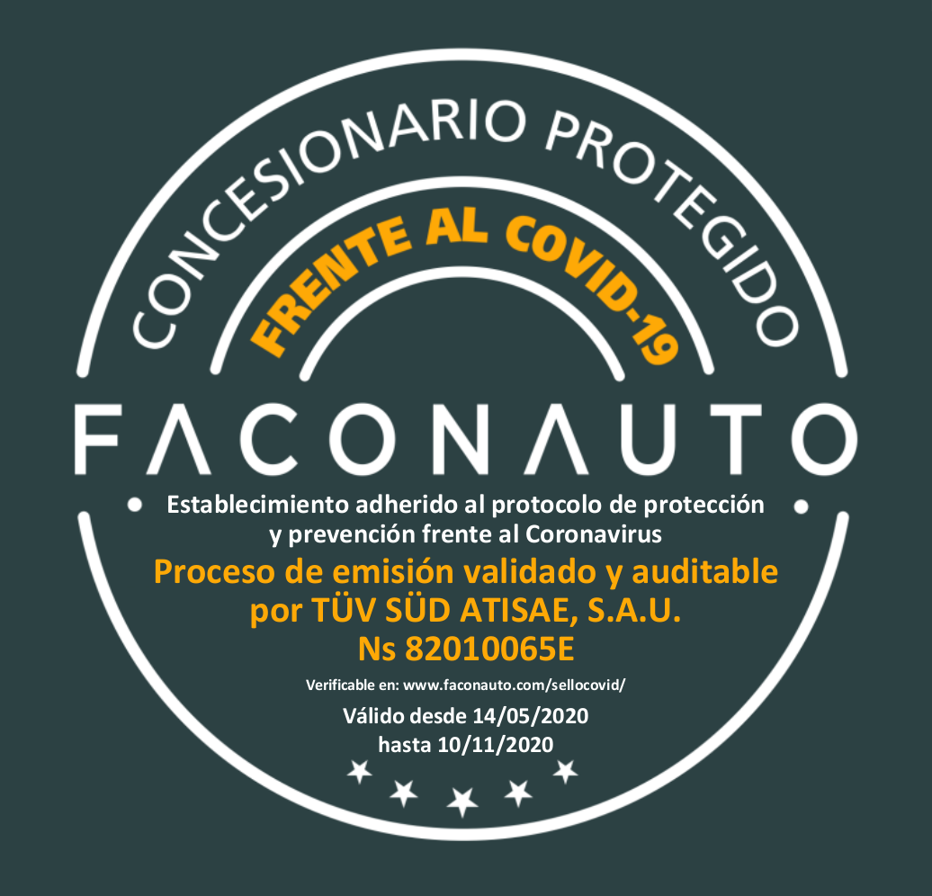 Sello COVID-19 Faconauto